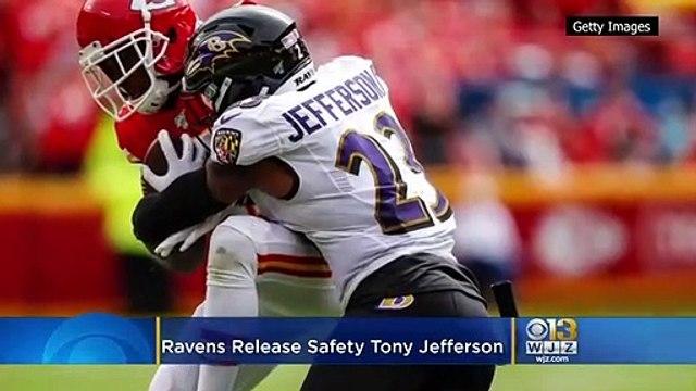 Ravens Release Safety Tony Jefferson
