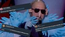 Coronavirus, Mask Singer... Le costume de Philippe Katerine n'est pas passé inaperçu aux Victoires 2020