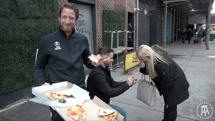 Valentine's Day Pizza Review Classic - Serafina (Bonus Marriage Proposal)