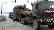 Suriye sınırına askeri sevkiyat devam ediyor  - GAZİANTEP