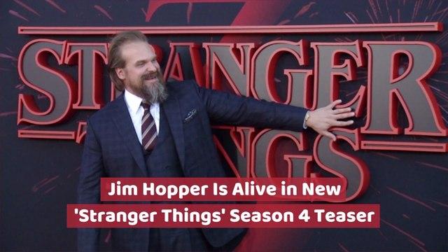 Jim Hopper Is Alive In 'Stranger Things'