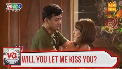 Will you let me kiss you?