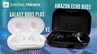 Samsung Galaxy Buds+ vs Amazon Echo Buds