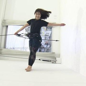 川北円佳/やさしいニュース「金どこ!?バーティカルダンス」20200214