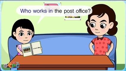 สื่อการเรียนการสอน Who works in the hospital ป.2 ภาษาอังกฤษ