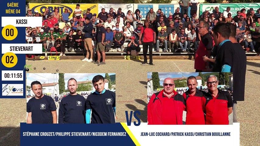 64ème STIEVENART vs KASSI International à pétanque de l'Olivier 2019 à Nyons