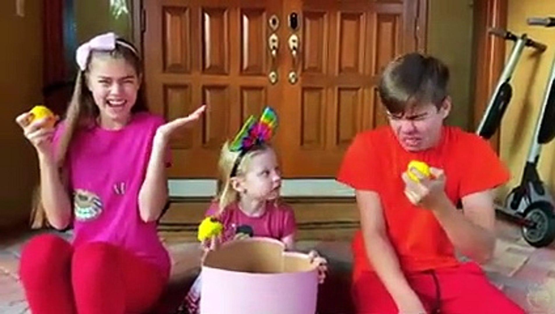 Nastya and Stories about Not healthy Sweets Kids Настя и истории про вредные сладости