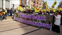 Strasbourg: plusieurs milliers de Kurdes réclament la libération d'Öcalan