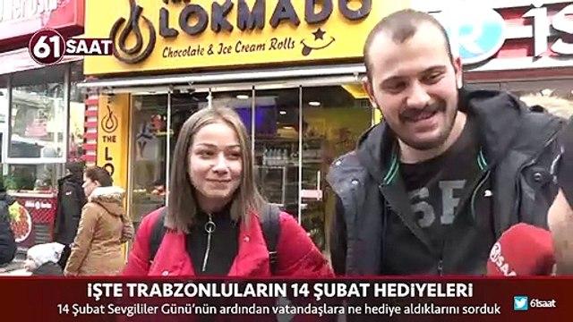 İşte Trabzonluların 14 Şubat Sevgililer Günü hediyeleri