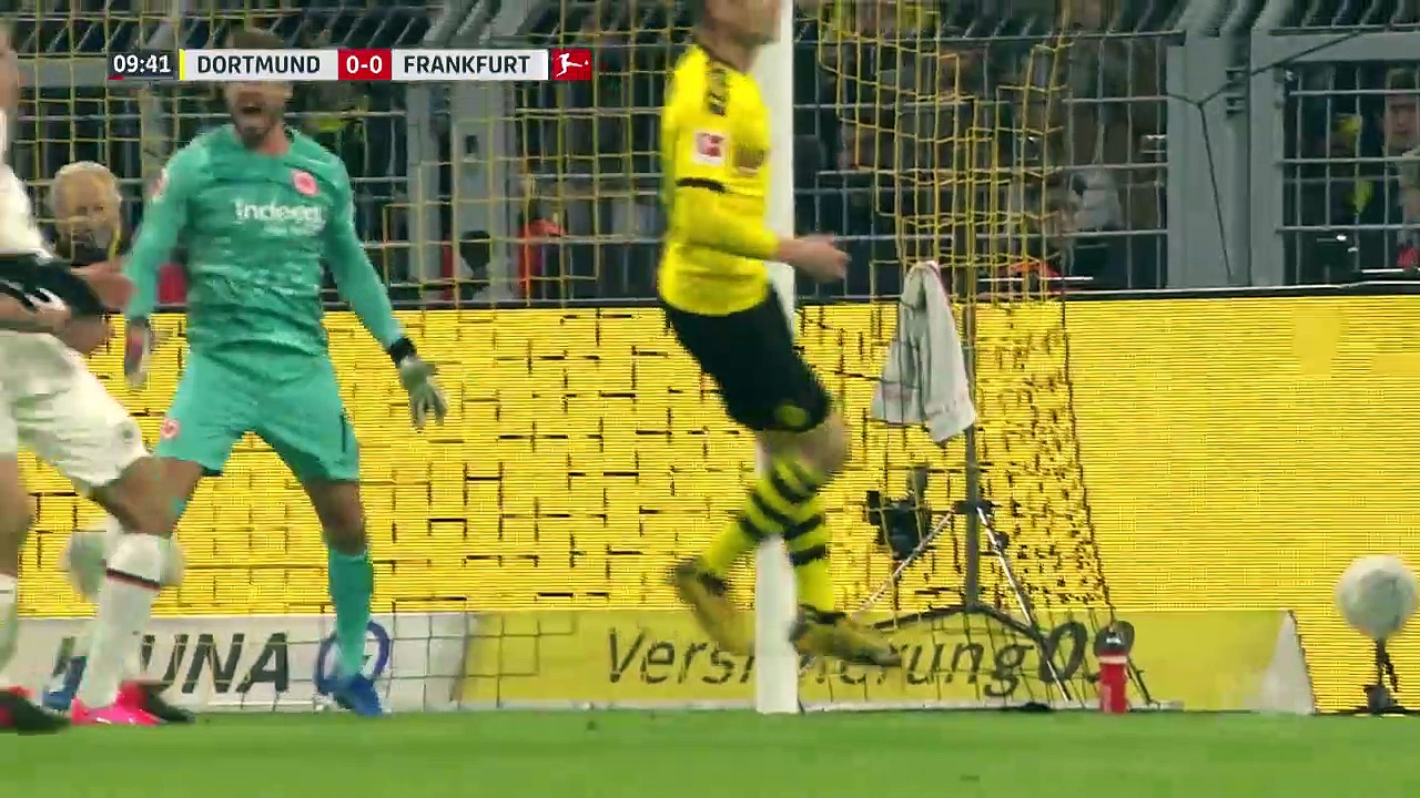 Borussia Dortmund - Eintracht Frankfurt (4-0) - Maç Özeti - Bundesliga 2019/20
