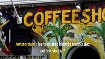 Amsterdam : les touristes bientôt bannis des coffee-shops ?
