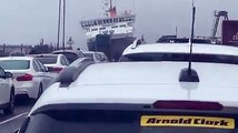 Rocking CalMac Ferry