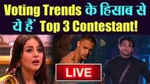 Bigg Boss 13 Grand Finale:Siddharth Shukla, Shehnaz और Asim है, Voting Trends में सबसे आगे| वनइंडिया हिंदी