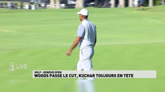 Genesis Open - Woods passe le cut, Kuchar en tête