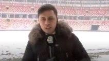 A Spor muhabiri beyin yaktı