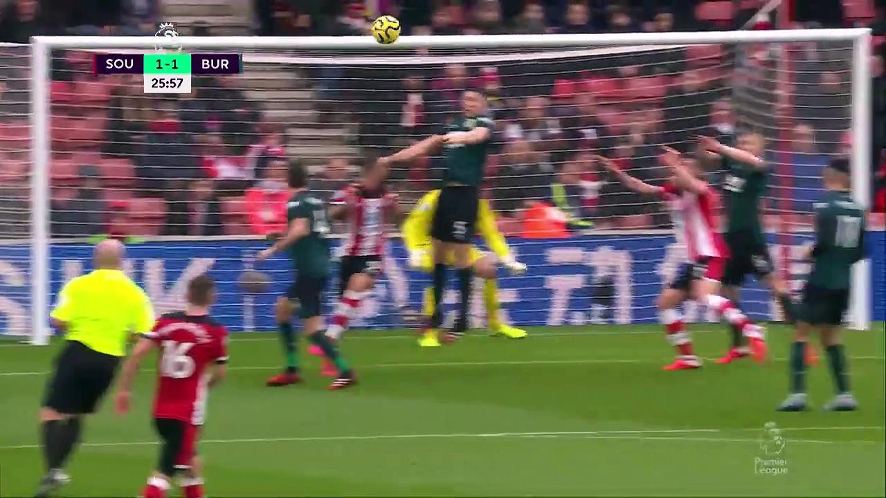 Southampton - Burnley (1-2) - Maç Özeti - Premier League 2019/20