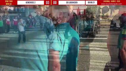 GENEVOISE 02 vs CB LUDOVICIEN troisième tour : L'Hivernal Pétanque by « La Genevoise » 2020