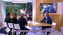 """Regardez la video spectaculaire de l'arrestation de Piotr Pavlenski diffusée ce soir par Paris Match et par """"C à vous"""" sur France 5"""