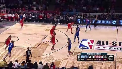 Giannis BLOCKS LeBron James - 2020 NBA All-Star Game