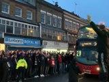 Ligue des Champions - Les supporters de Leipzig envahissent les rues de Londres
