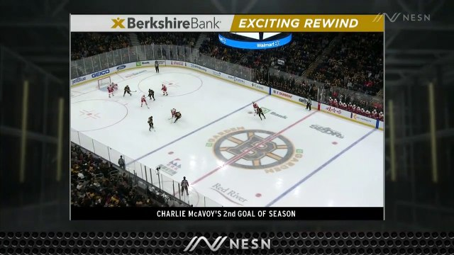 Charlie McAvoy Knots Score At One For Bruins Vs. Red Wings