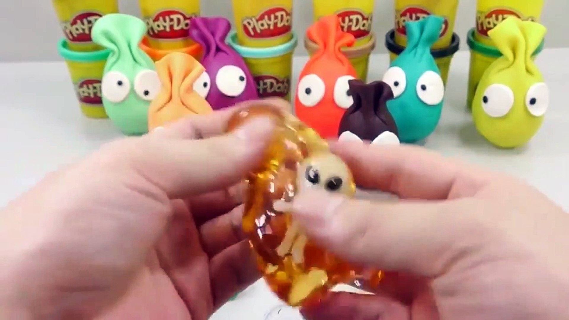 Edy Play Toys - Kids Play Colors Slime Combine Mix Learn Colors Surprise Egg Clay Kids Play Toys For