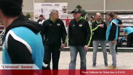 Genève Région VS Sportivement Pétanque 7ème tour : L'Hivernal Pétanque by « La Genevoise » 2020