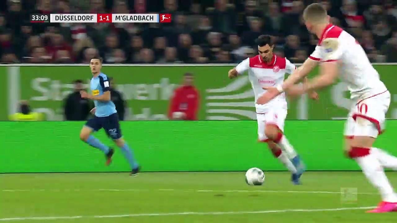 Fortuna Düsseldorf - Borussia Mönchengladbach (1-4) - Maç Özeti - Bundesliga 2019/20
