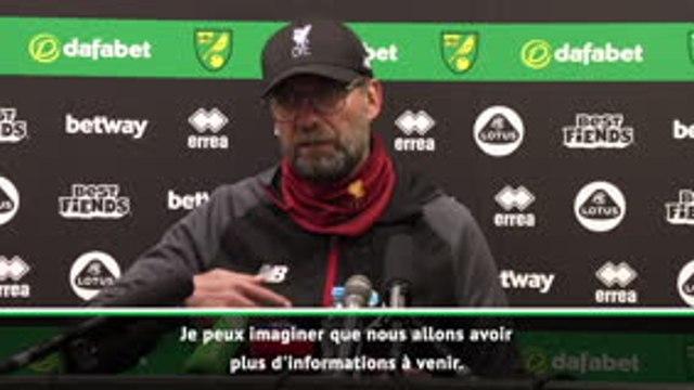 City exclu - Klopp : ''Je suis désolé pour Pep Guardiola et ses joueurs''