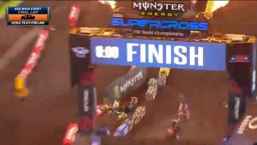 450SX Main Event AMA Supercross Tampa 2020