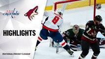 Arizona Coyotes vs. Washington Capitals - Game Highlights