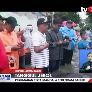 Ratusan Rumah di Cilodong Depok Terendam Banjir
