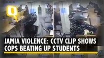 CCTV Clip Shows Cops Attacking Jamia Students Inside Library, Delhi Police Says 'Will Probe' | The Quint