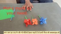 - Paper flower making | Making Paper Flowers Step by Step | Easy Paper Flowers | paper flower making