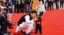 Delhi MLA Raghav Chadha takes selfie with junior Kejriwal, who has won millions of hearts