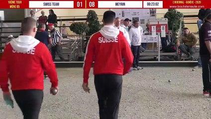 SWISS TEAM vs MEYRIN 10ème tour : L'Hivernal Pétanque by « La Genevoise » 2020