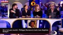 On n'est pas couché : Philippe Manœuvre tacle Jean-Baptiste Guégan (Vidéo)