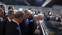 Cumhurbaşkanı Erdoğan, Teknopark-İstanbul 2. Etap açılış töreni öncesi incelemelerde bulundu