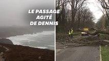 Les images de la tempête Dennis, dévastatrice au Royaume-Uni