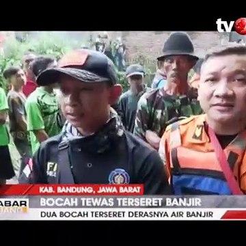 Satu dari 2 Jasad Bocah yang Terseret Arus Banjir Ditemukan