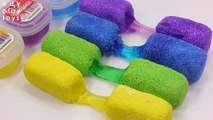 Learn Colors Slime Toys Cheese Stick Foam Clay Colors Slime DIY Toys For Kids
