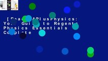 [Read] APlusPhysics: Your Guide to Regents Physics Essentials Complete