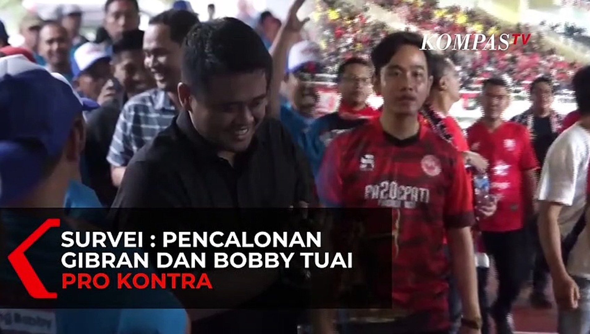 Survei Pencalonan Gibran Rakabuming dan Bobby Nasution Tuai Pro Kontra