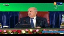 Abdelmadjid Tebboune :  « L'ère des fausses promesses et la corruption est finie »