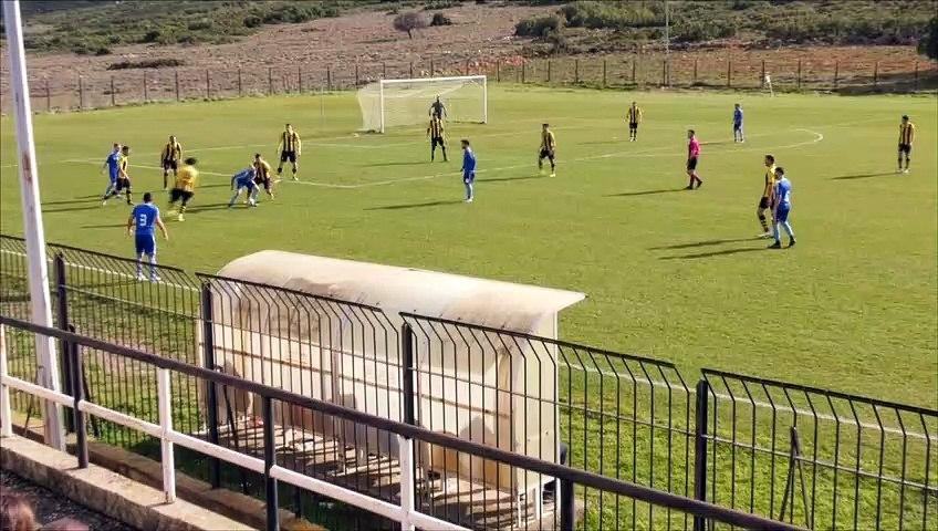 Κιθαιρώνας Καπαρελλίου-ΑΕΚ Τρίπολης 2-0