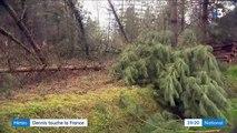 Intempéries : la tempête Dennis frappe la France