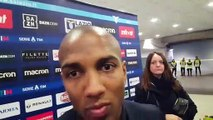 Lazio - Inter: Ashely Young in mixed zone