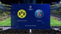 Borussia Dortmund vs PSG 2020 | Round of 16| UEFA Champions League 2019-2020 HD FIFA 20