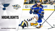 NHL Highlights | Blues @ Predators 2/16/20