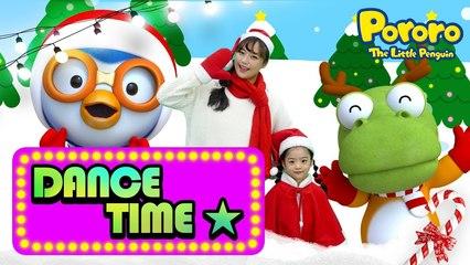 Banana Cha Cha Christmas ver. | Christmas Cha Cha | MOMOLAND X PORORO | Christmas song for kids